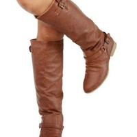 Top Moda Women's COCO 1 Knee High Riding Boot