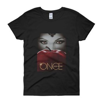 Tv Show Once Upon A Time High Women'S T Shirt