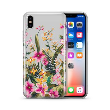 Growing Garden - Clear TPU iPhone Case / Samsung Case Phone Cover