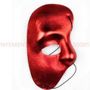 Mask righ Half Face Phantom Of The Night Opera Men Women Masks Masquerade Party Masked Ball masks Halloween festivesupplie500pcs