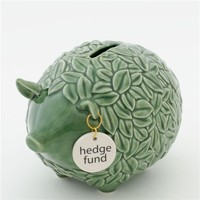 Hedge Fund Piggy Coin Bank