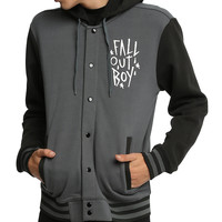 Fall Out Boy Skull Varsity Jacket