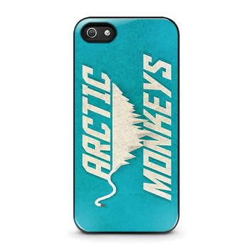 ARCTIC MONKEYS BLUE iPhone 5 / 5S / SE Case Cover