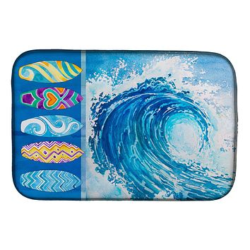 Surf Boards and Wave Dish Drying Mat BB8528DDM