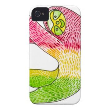 Rasta Sloth iPhone 4/4S Case By Megaflora from Zazzle.com