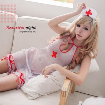 Mesh Backless Strappy Fashion Underwear Lingerie Sleepwear