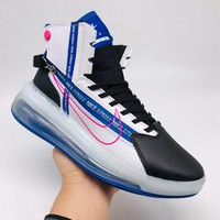 HCXX 19Sep 701 Nike Air Max 720 Satrn Hight Breathable Sneakers Knit Casual Fashion Basketball Shoes