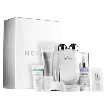 NuFACE Trinity + Eye and Lip Enhancer Attachment with REN Firming Set - JCPenney