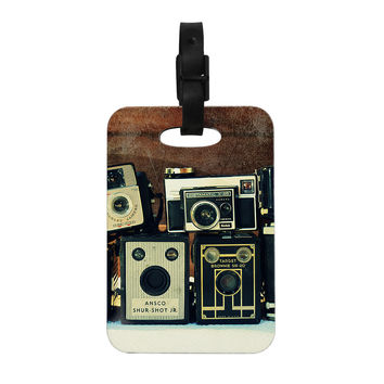 "Robin Dickinson ""Through the Years"" Vintage Camera Decorative Luggage Tag"