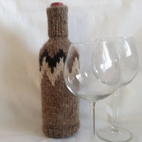 wine bottle covers, wine sleeve, handmade, knitted, gift idea, sweater, bottle, decoration, housewarming gift, wine bottle decor