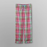 Joe Boxer  Junior's Pajama Pants - Plaid