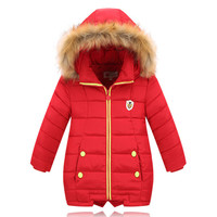 New fashion kids clothing boys and girls clothes in winter children down jacket Thickening of children's coat to keep warm