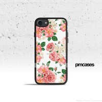 White Floral Phone Case Cover for Apple iPhone Samsung Galaxy S & Note