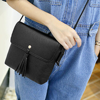 Retro Women Leather Shoulder Bag Female Fashion Casual Crossbody Messenger Bags Chic Handbag Gift 51