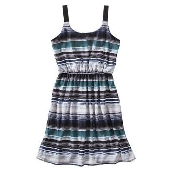 Xhilaration® Juniors Sleeveless Dress - Gray