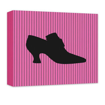 Princess Shoes I Children's Canvas Wall Art