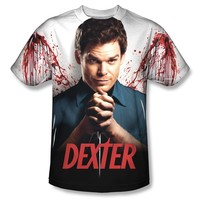 Dexter Unisex Wings All-Over T-Shirt Multi Color Large