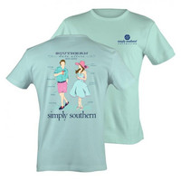 Simply Southern PRP Southern Date Attire Girlie Bright T Shirt