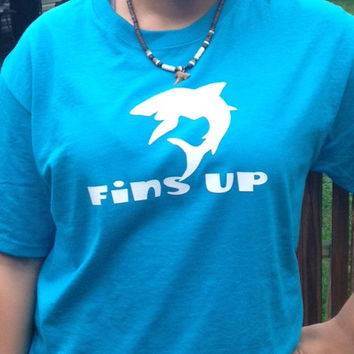 Fins Up Shark T-Shirt