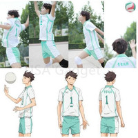 Haikyuu!! Oikawa Tooru Aoba Johsai High School Sports Suit