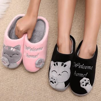 Super Comfy Cat Slippers