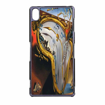 Salvador Dali Soft Watch Melting Clock Sony Xperia Z3 Case