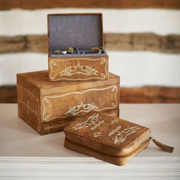 Junk Gypsy Wrangler Jewelry Boxes
