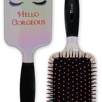 Paddle Hair Brush for Detangling & Styling - Ideal for Blow-drying, Straightening, Combing All Hair Types...
