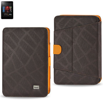 FITTING CASE WITH CLIP KINDLE FIRE 7 INCH DARK BROWN