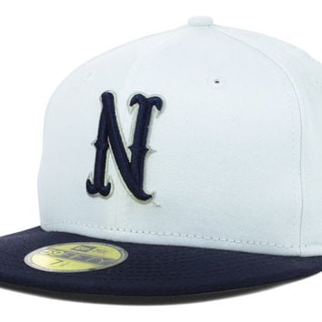 Nevada Wolf Pack NCAA White 2 Tone 59FIFTY Cap