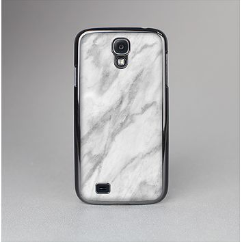 The White Marble Surface Skin-Sert Case for the Samsung Galaxy S4
