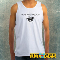 Camp Half Blood Books Clothing Tank Top For Mens