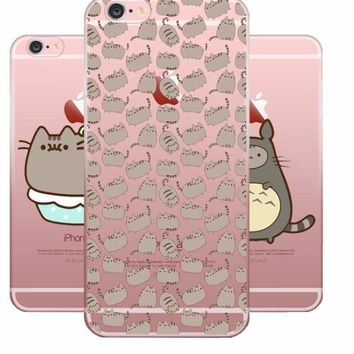 So Cute! Chubby Wubby Furball Cat - Soft Silicone Case For Apple iPhone 8 7 6 6S Plus 5 5S SE 5C 4 4S
