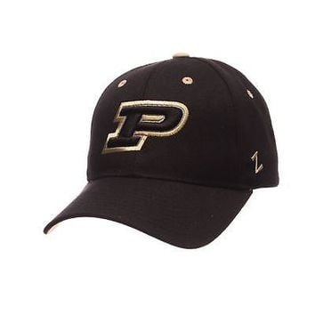 new product 4ead9 61552 Licensed Purdue Boilermakers Official NCAA Competitor Adjustable Hat Cap by  Zephyr 415795 KO 19 1