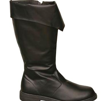 Boot Pirate Black Men Fashion Halloween props Costumes