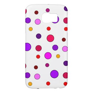 Polka Dots Samsung Galaxy S6 Case