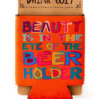 EYE OF THE BEER HOLDER DRINK COZY