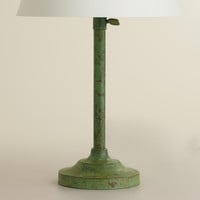Oxidized Copper Accent Lamp Base - World Market