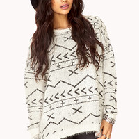 Standout Eyelash Knit Sweater | FOREVER 21 - 2075076427