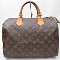 Louis Vuitton Hand Bag Speedy 30 Brown Monogram