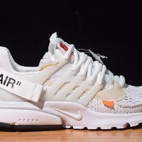 [ Free  Shipping ]Off-White x Nike Air Presto 2.0 Running Sneaker