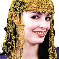 costume accessory: headpiece egyptian gold