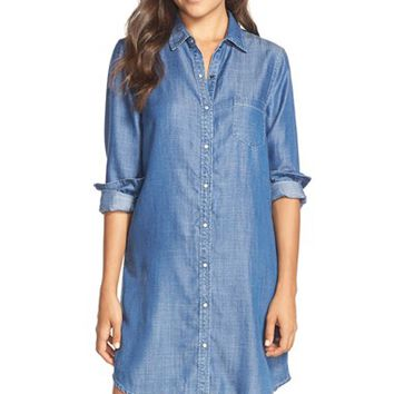 Women's Tart 'Jenine' Chambray Shirtdress,
