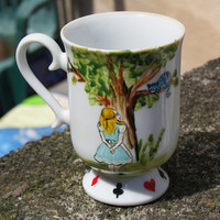 Alice in Wonderland Mug It's Always Tea Time