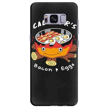 calcifer's bacon and eggs Samsung Galaxy S8 Plus
