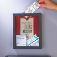 Ticket Memento Storage Boxes