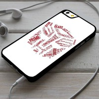 Transformers Autobot Head iPhone 4/4s 5 5s 5c 6 6plus 7 Case