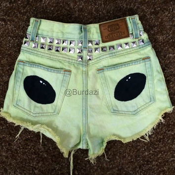 Terra High Waisted Shorts