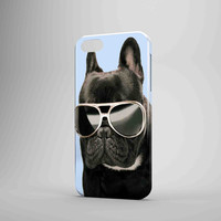 French Bulldog Glasses iPhone 5 Case