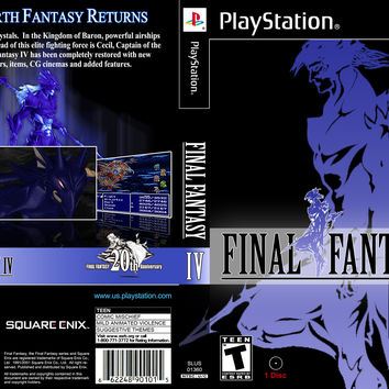 Final Fantasy IV - Sony Playstation (Game Only)